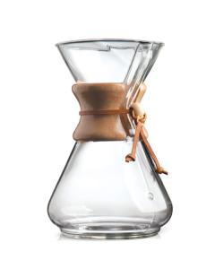 Chemex 10 kopps kaffe håndbrygger