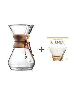 Chemex 6 kopps med filter