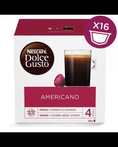 Nescafé Dolce Gusto Americano 16 Kapsler