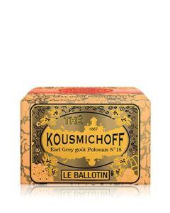 Kusmi Tea Earl Grey Polish Blend N°118 - Ballotin 75g