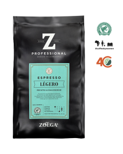 Zoégas Legero espresso Hele Bønner 500gr
