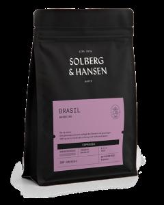 Solberg & Hansen - Brasil - Fazenda Barreiro Espresso Hele Bønner 250g