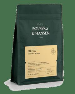 Solberg & Hansen - India - Monsooned Malabar Hele Bønner 250g