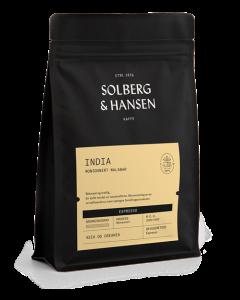 Solberg & Hansen - India - Monsooned Malabar Espresso Hele Bønner 1 kg