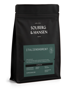 Solberg & Hansen - Italienskbrent Espresso Hele Bønner 2,5 kg
