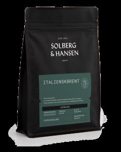 Solberg & Hansen - Italienskbrent Espresso Hele Bønner 250g