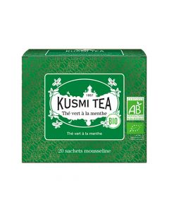Kusmi Tea - Organic Spearmint Green Tea 20 Teposer