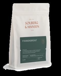 Solberg & Hansen - FRANSKBRENT Hele Bønner 2,5 kg