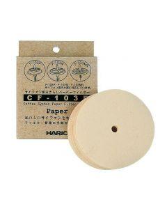 HARIO Papirfilter til Vakumkanne Syphon 100 stk
