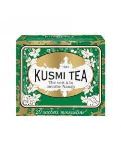 Kusmi Tea - Spearmint Green Tea 20 Teposer - Best før 10/2020
