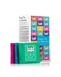 Kusmi Tea - wellness te - assortert 24 teposer mix