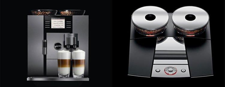 Kaffemaskin og espresomaskin